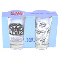 ABBEY5 - Beatles Shot Glasses