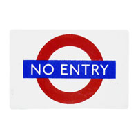 LM55 - No Entry