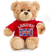 P38-2 - Cute Soft Teddy Bear - Red