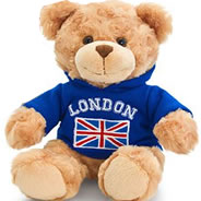 P38-3 - Cute soft Teddy Bear- Blue